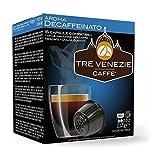 TRE VENEZIE CAFFE - Aroma DESCAFFEINATO 16 CÁPSULAS