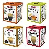 Ristora - Surtido de cápsulas de café compatibles con Dolce Gusto (4 variedades)