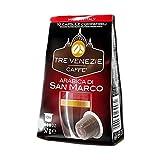 Tre Venezie Caffé - Café Arabica di San Marco - 10 Cápsulas (versión estuche) - [Pack de 5]