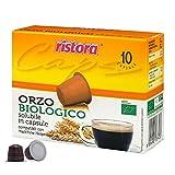 Ristora - Lote de 40 cápsulas de café de malta biológico compatibles con Nespresso