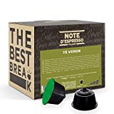 Note d'Espresso - Té Verde - Cápsulas compatibles con Cafeteras NESCAFE'* DOLCE GUSTO*- 48 caps