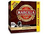 Capsulas Compatibles Nespresso* Marcilla Ristretto 200 Cápsulas Aluminio