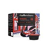 FRHOME - Lavazza a Modo Mio 100 Càpsulas compatibles - Il Caffè Italiano - Mezcla Venezia Intensidad 8
