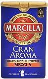 Marcilla Gran Aroma Café Molido Descafeinado Mezcla - 200 gr