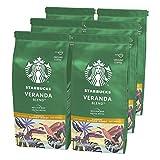 Starbucks Veranda Blend Café Molido De Tostado Suave 6 Bolsa de 200g
