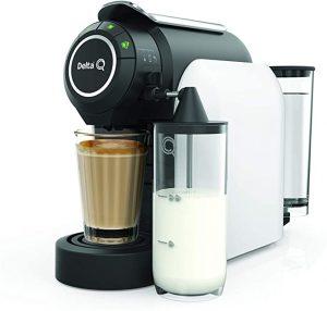 cafetera de capsulas delta q milk qool