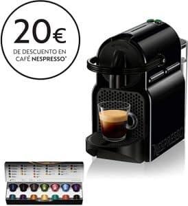 cafetera de capsulas nespresso delonghi inissia en80b negro