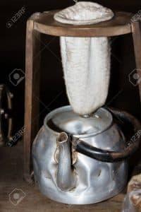 cafetera de goteo antigua