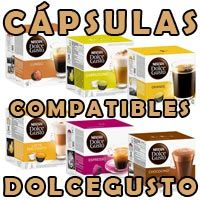 cafetera dolce gusto capsulas compatibles