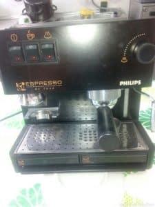 cafetera expresso con molinillo philips