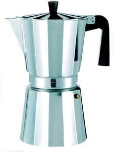 cafetera italiana de acero inoxidable 12 tazas