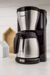 cafetera philips acero inoxidable