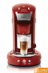 cafetera philips senseo latte