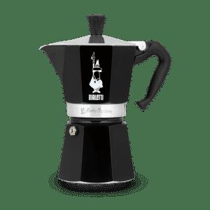 cafetera bialetti negra
