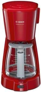 cafetera de goteo roja