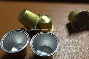 capsula nespresso de aluminio