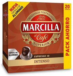 capsula nespresso marcilla