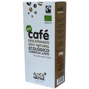 cafe descafeinado ecologico