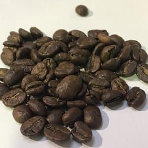 cafe descafeinado en grano