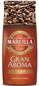 cafe en grano marcilla