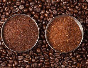 cafe molido grueso