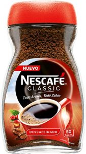 cafe soluble descafeinado