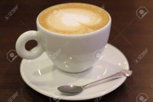 taza de cafe con leche