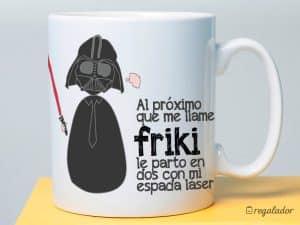 taza de cafe friki