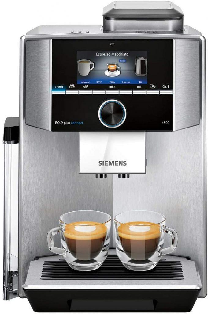 Siemens TI9553X1RW Cafetera Superautomática, EQ.9 mejor cafetera siemens