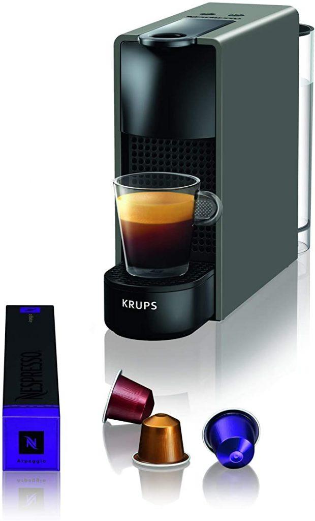 Krups Nespresso XN110B Krups Essenza Mini - Cafetera monodosis de cápsulas Nespresso
